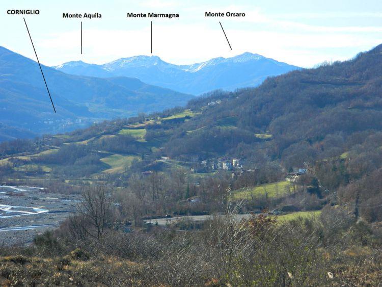 Paesaggio visto dalla Loc. Signatico
